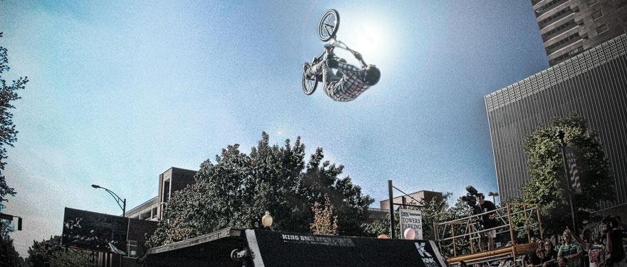 King BMX Flip