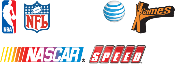 NBA NFL MTV AT&T XGames Nascar SPEED